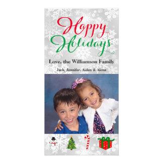 Bonnes fêtes images de Noël de carte photo
