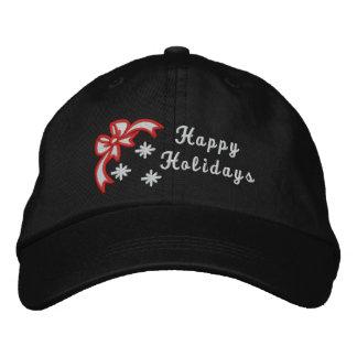 Bonnes fêtes le casquette des femmes brodées par casquette brodée