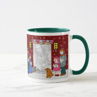 Bonnes fêtes tasse personnalisable de Noël