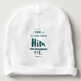Bonnet De Bébé 4h13 de Philippiens - je peux faire tout des