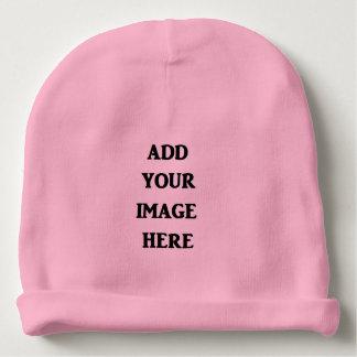 Bonnet De Bébé Ajoutez votre calotte de bébé d'image ici