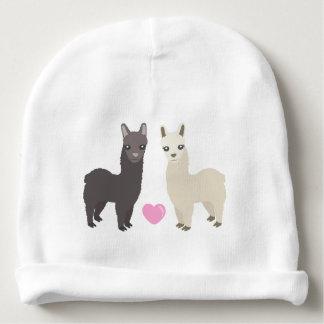 Bonnet De Bébé Alpaga et coeur