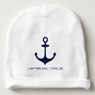 Bonnet De Bébé Ancre et gouvernail de direction nautiques