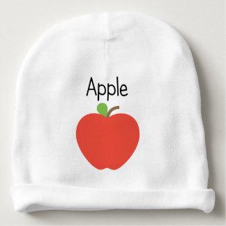 Bonnet De Bébé Apple rouge