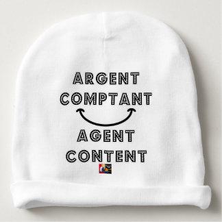 Bonnet De Bébé Argent Comptant Agent Content