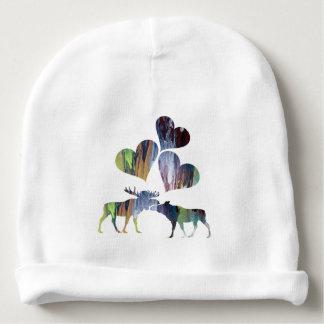 Bonnet De Bébé Art d'orignaux