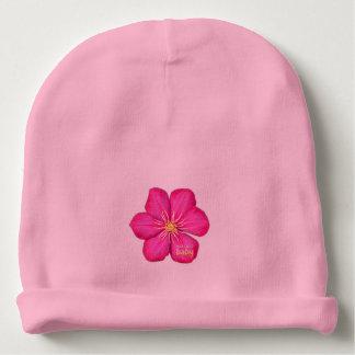 Bonnet De Bébé Bébé de Nick David - calotte de fleur de clématite