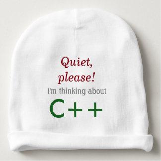 Bonnet De Bébé Bébé pensant à C++