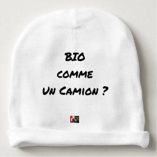 Bonnet De Bébé BIO COMME UN CAMION ? - Jeux de mots