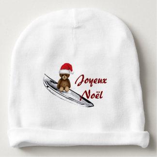 Bonnet De Bébé Bonnet blanc bébé Nounours, surf et Noël