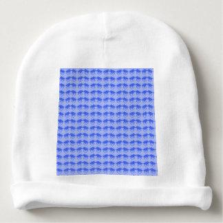 Bonnet De Bébé Cadeaux bleus de bébé de dinosaure