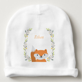 Bonnet De Bébé Calotte de bébé de Fox de forêt de région boisée