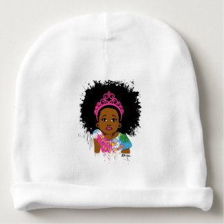 Bonnet De Bébé Calotte de bébé de princesse AZ de moka