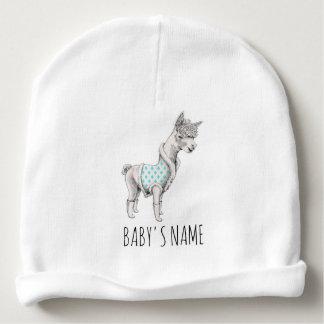 Bonnet De Bébé Calotte de coton de bébé d'alpaga