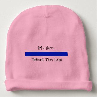 Bonnet De Bébé Calotte de coton de bébé de Blue Line