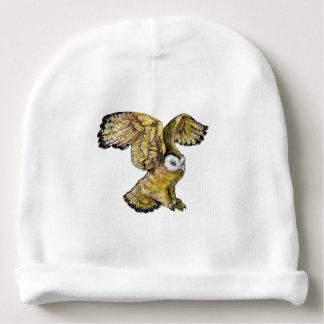 Bonnet De Bébé Calotte de coton de bébé de hibou
