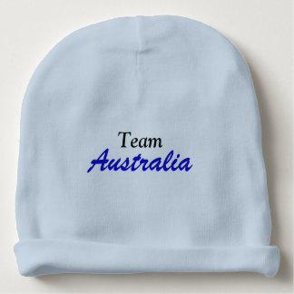 Bonnet De Bébé Calotte de coton de l'Australie d'équipe