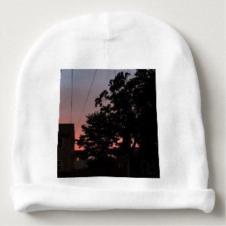 Bonnet De Bébé Calotte de Skys de coucher du soleil