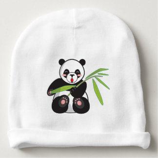 Bonnet De Bébé Calotte en bambou de bébé de panda