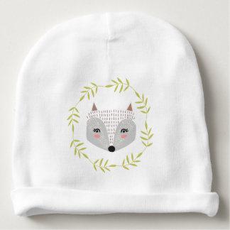 Bonnet De Bébé Calotte rusée de coton de bébé de visage