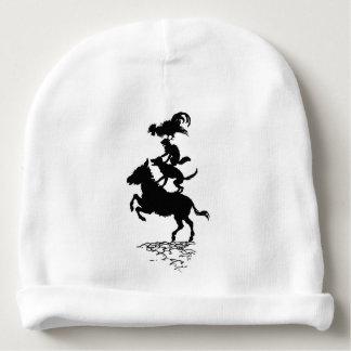 Bonnet De Bébé Calotte vintage de coton de bébé d'âne de chien de
