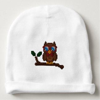 Bonnet De Bébé casquette à 8 bits de bébé de hibou