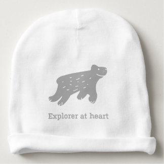 """Bonnet De Bébé Casquette de bébé avec le chien """"explorateur au"""