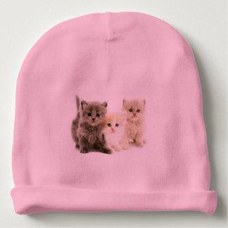 Bonnet De Bébé Casquette de bébé de chaton