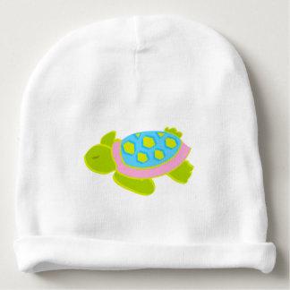 Bonnet De Bébé Casquette de bébé de rose de tortue de mer