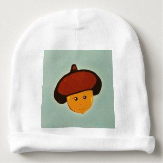 Bonnet De Bébé Casquette de calotte de bébé de gland de bébé