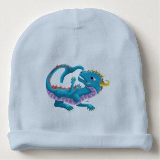 Bonnet De Bébé Casquette de dragon de bébé de l'eau bleue