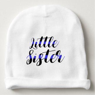Bonnet De Bébé Casquette mince de police de petite soeur de bébé