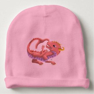 Bonnet De Bébé Casquette rose de dragon de bébé de l'eau