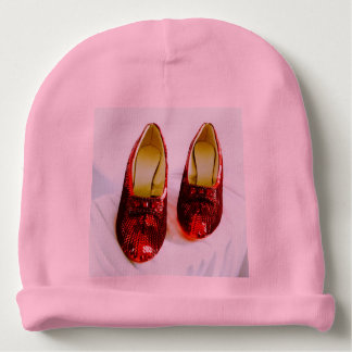 Bonnet De Bébé Casquette rouge adorable de bébé de pantoufles !