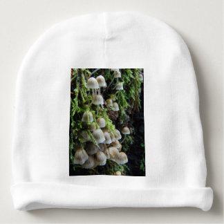Bonnet De Bébé Champignons blancs minuscules