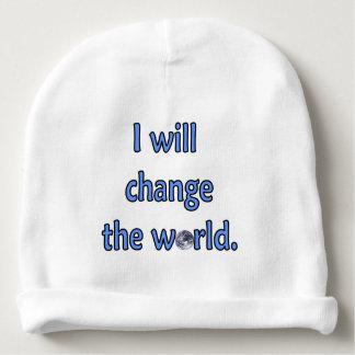 Bonnet De Bébé Changez le bleu du monde