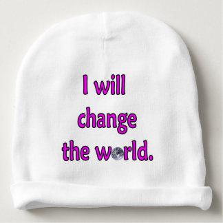 Bonnet De Bébé Changez le rose du monde