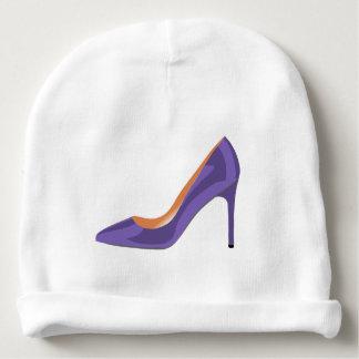 Bonnet De Bébé Chaussure de talon haut dans l'ultraviolet