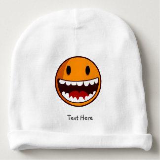 Bonnet De Bébé Classique souriant étrange