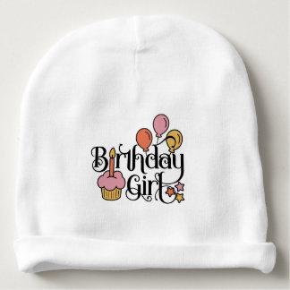 Bonnet De Bébé Conception mignonne de fille d'anniversaire pour