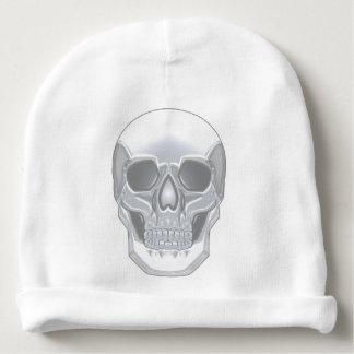Bonnet De Bébé Crâne en cristal