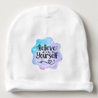 Bonnet De Bébé Croyez en vous-même
