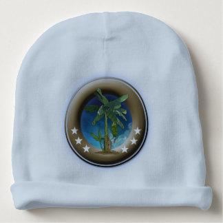 Bonnet De Bébé Custom Gorrito de coton pour bois bleu