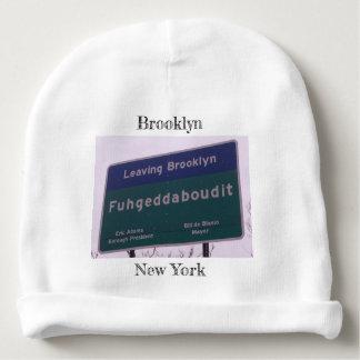 Bonnet De Bébé Départ de Brooklyn New York Fuhgeddaboudit