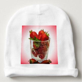 Bonnet De Bébé Dessert de fraise