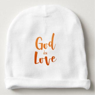 Bonnet De Bébé Dieu est amour - spirituel et religieux - bébé