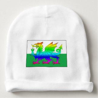 Bonnet De Bébé Dragon d'arc-en-ciel de drapeau de Gallois