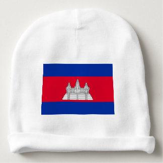 Bonnet De Bébé Drapeau du Cambodge