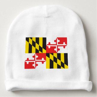 Bonnet De Bébé Drapeau du Maryland