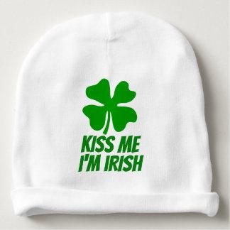 Bonnet De Bébé EMBRASSEZ-MOI que je suis casquette IRLANDAIS de